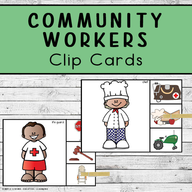 Community Workers Clip Cards