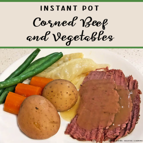 Instant Pot Corned Beef and Vegetables