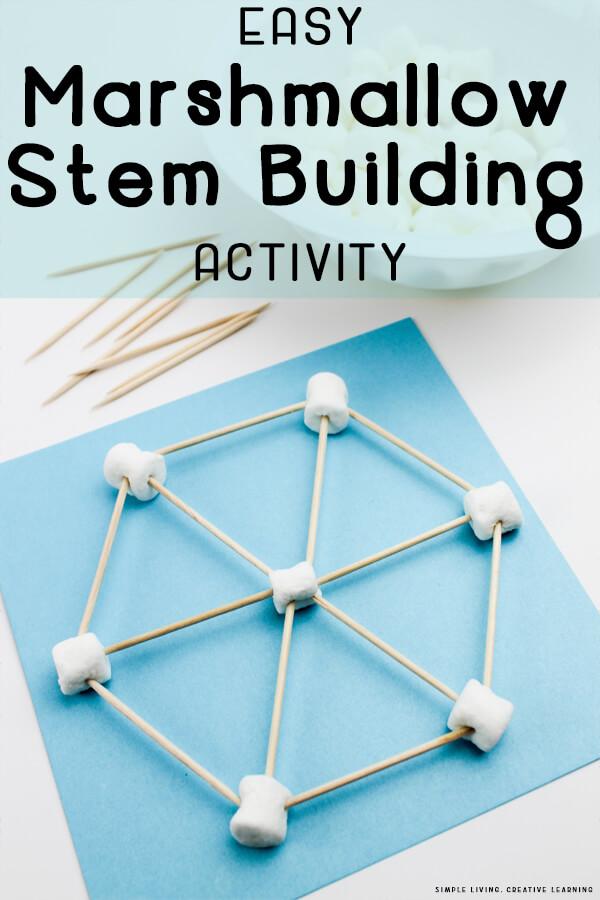 Marshmallow Stem Building Activity