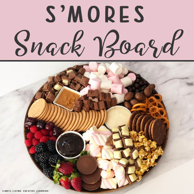 S'Mores Snack Board