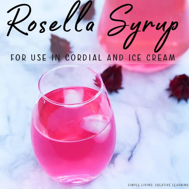 Homemade Rosella Syrup