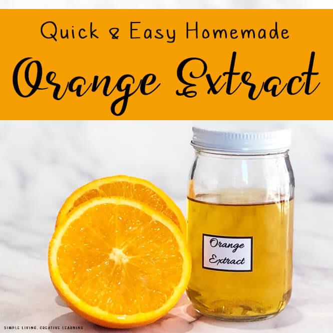 How to Make Orange Extract