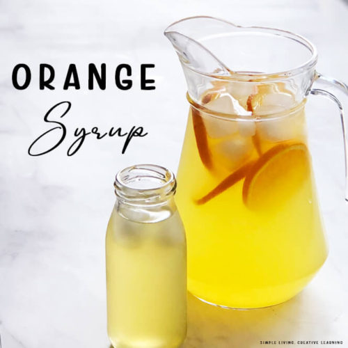 How to Make Orange Syrup