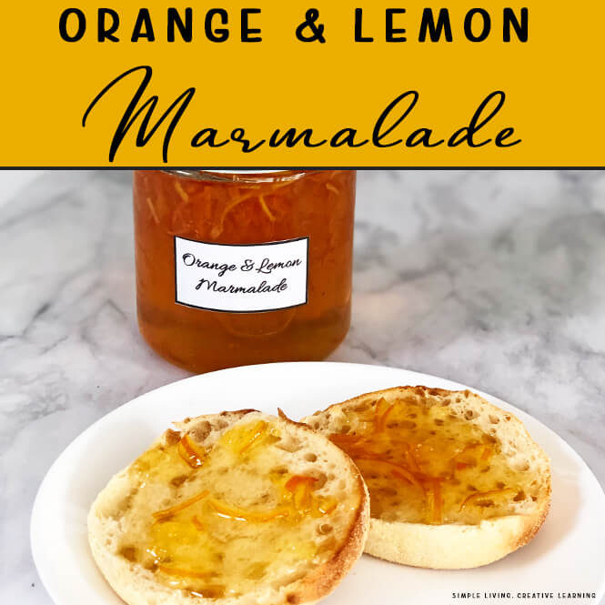 Make Homemade Orange and Lemon Marmalade