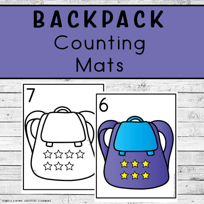 Backpack Counting Mats