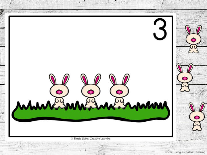 Preschoolers and toddlers will love these Bunny Counting Mats! This hands-on activity is fun and can be used multiple times. This activity focuses mainly on the numbers 1 – 20, though there are blank pages for you to increase their learning.