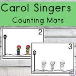 Carol Singers Counting Mats