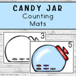 Candy Jar Counting Mats