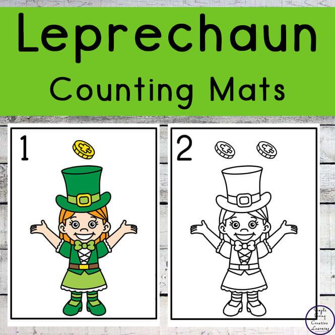 Leprechaun Counting Mats