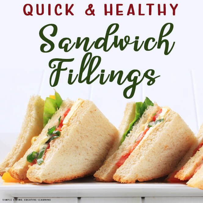 Quick and Healthy Sandwich Fillings