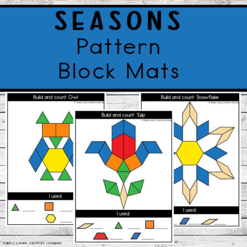 Seasons Pattern Block Mats