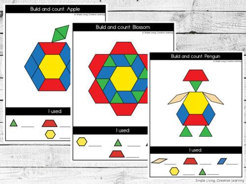 Seasons Pattern Block Mats