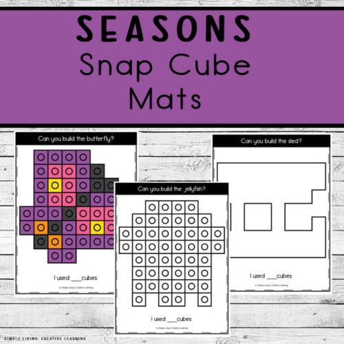Seasons Snap Cube Mats