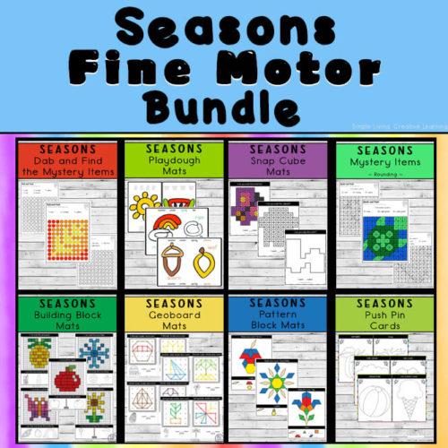 Seasons Fine Motor Bundle