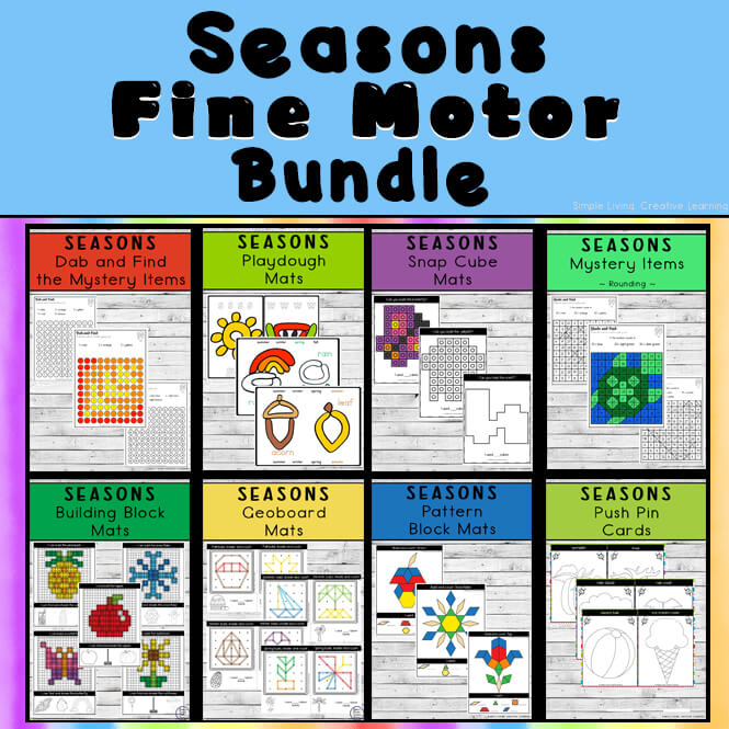 Seasons Fine Motor Bundle