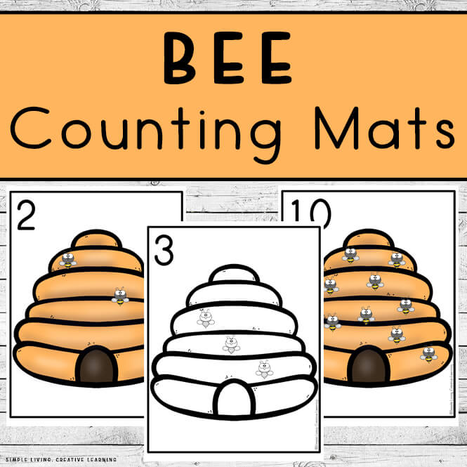 Bee Counting Mats