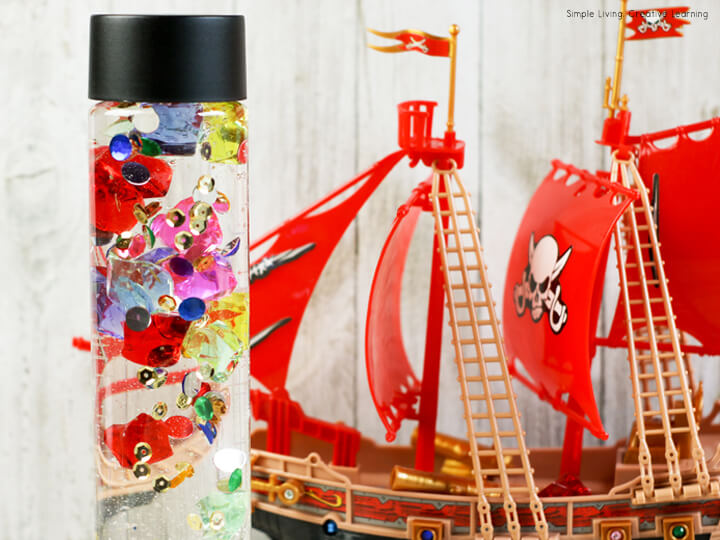 Pirate's Treasure Sensory Bottle