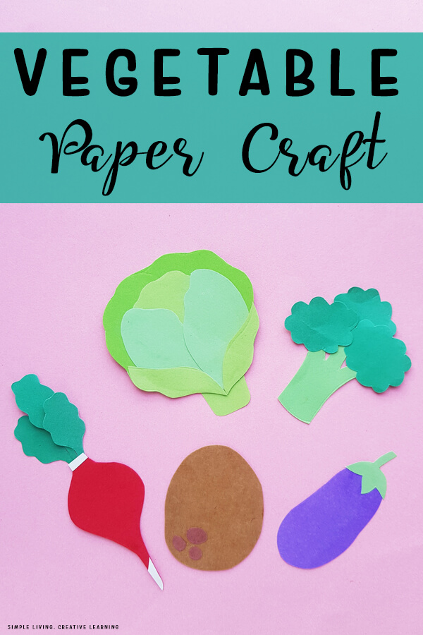 Vegetable Paper Craft Activity