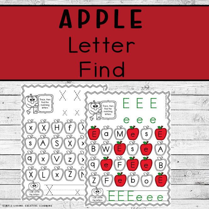 Apple Letter Find