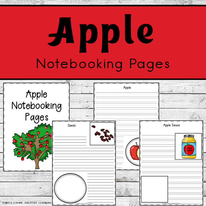 Apple Notebooking Pages