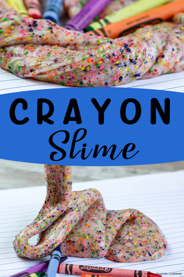 Fun DIY Crayon Slime