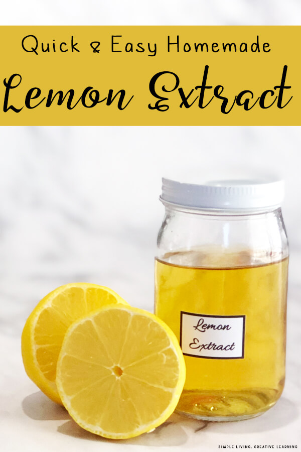 How to make Homemade Lemon Extract