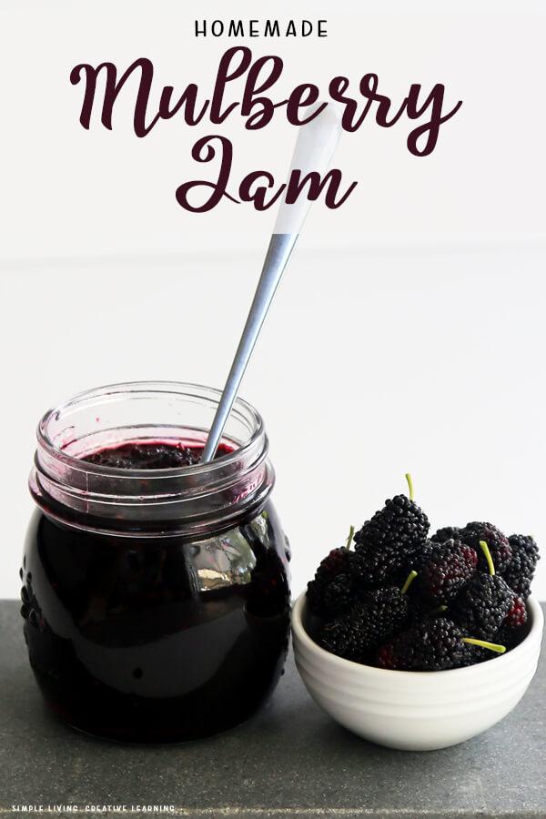 Homemade Mulberry Jam