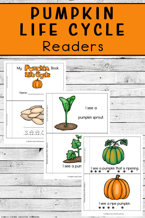 Pumpkin Life Cycle Readers
