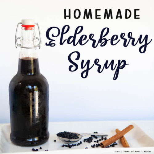How to Make Homemade Elderberry Syrup