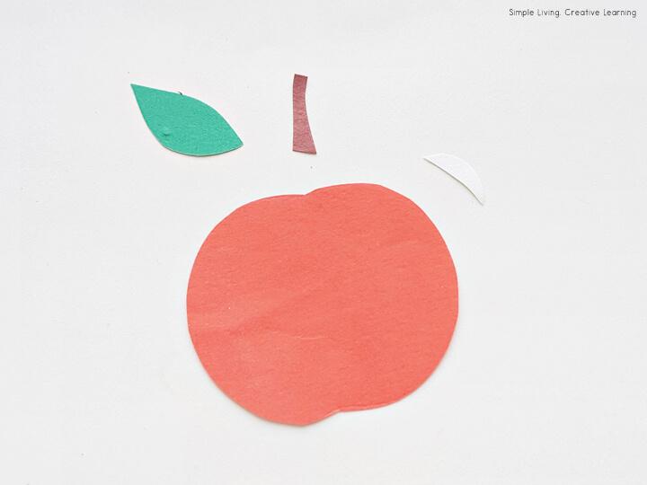 Fruit Paper Craft Activity