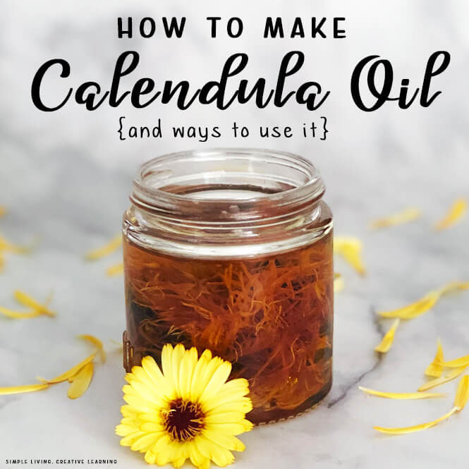 How to Make Calendula Oil
