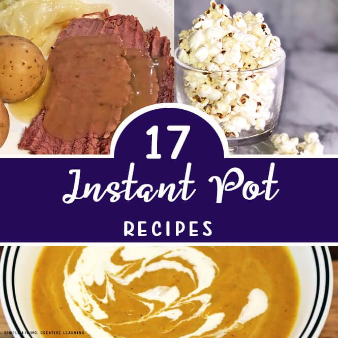 17 Instant Pot Recipes