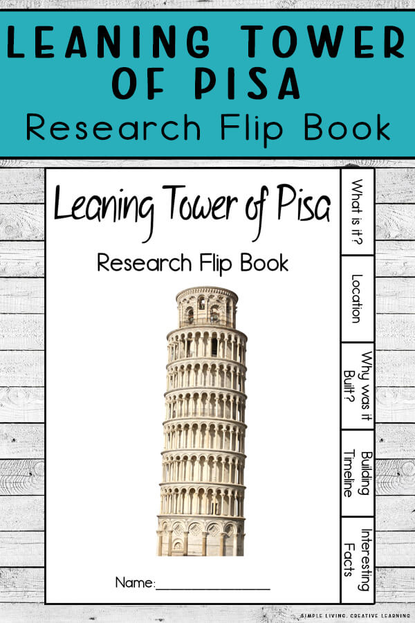 Leaning Tower of Pisa Flip Book