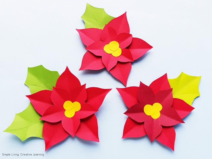 Poinsettia Paper Craft Activity