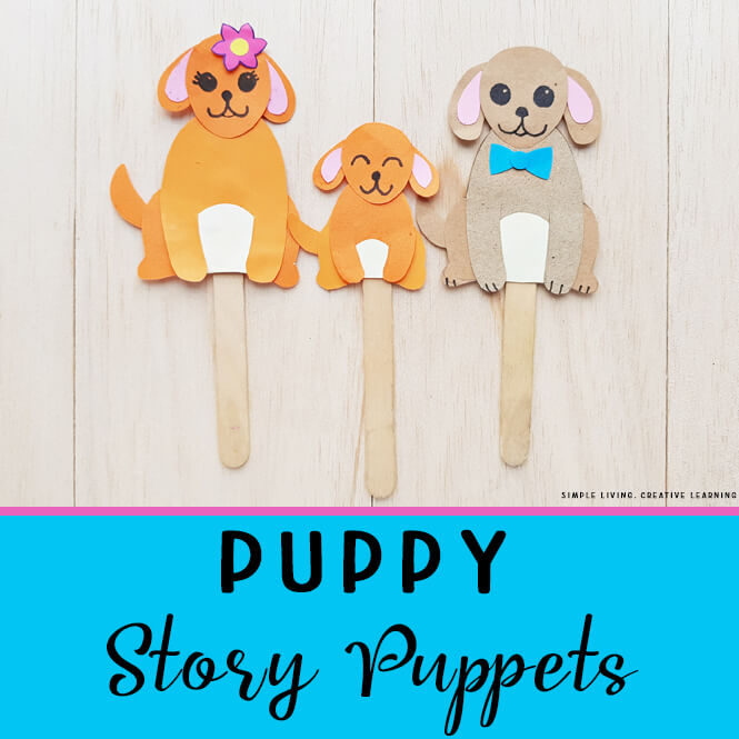 Puppy Story Puppets