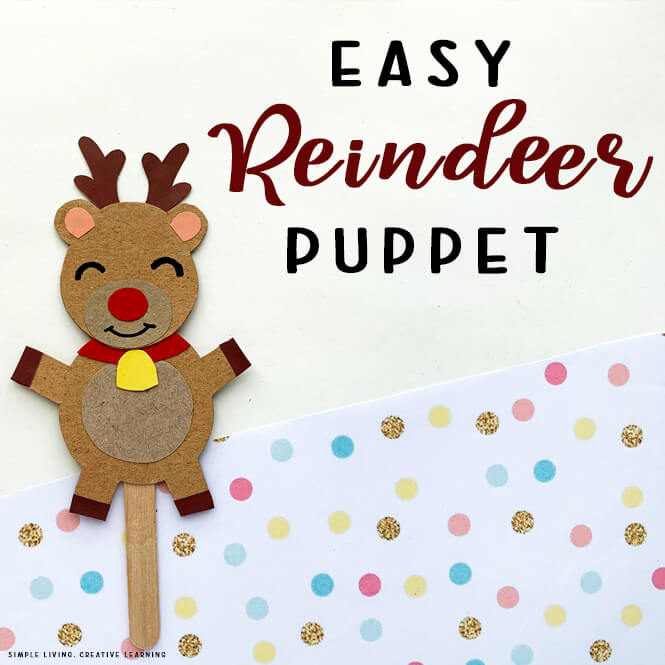 Reindeer Story Puppets