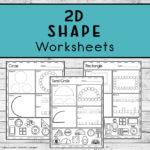 2D Shape Worksheets