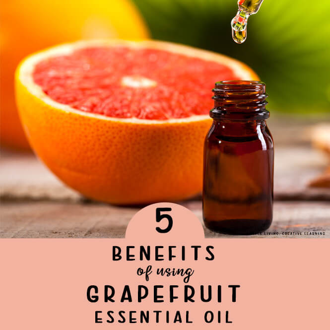 5 Benefits of Using Grapefruit Essential Oil
