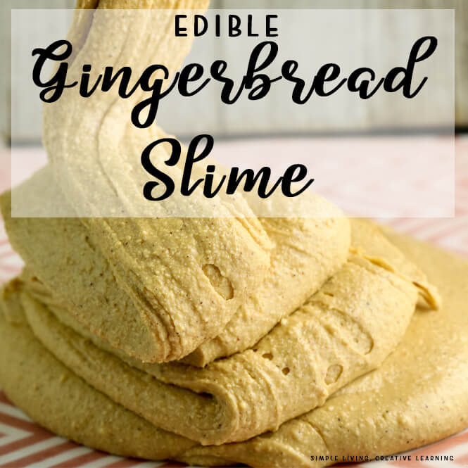 Edible Gingerbread Slime