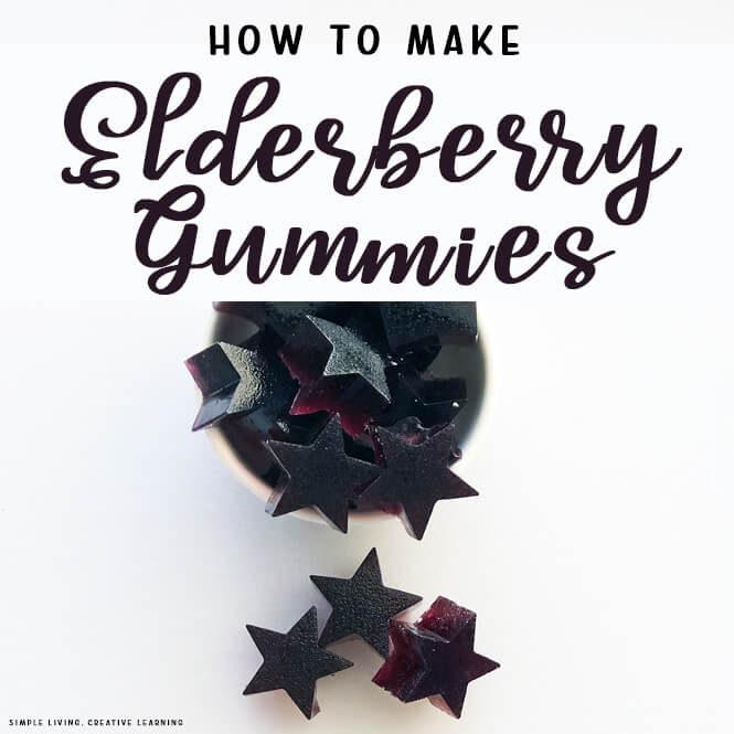 How to make Elderberry Gummies