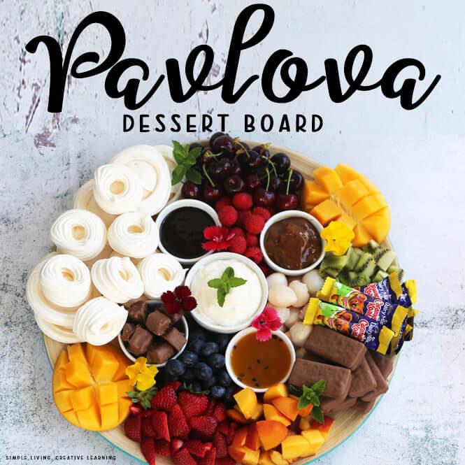 Pavlova Dessert Board