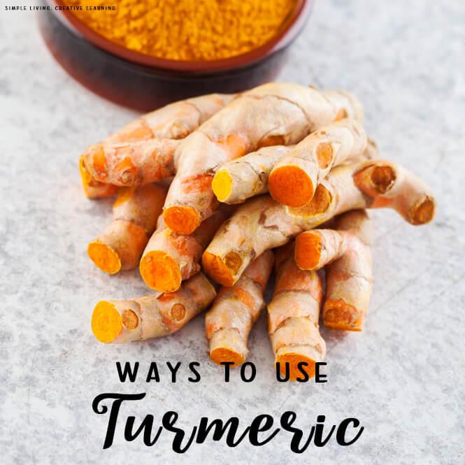 Ways to Use Turmeric