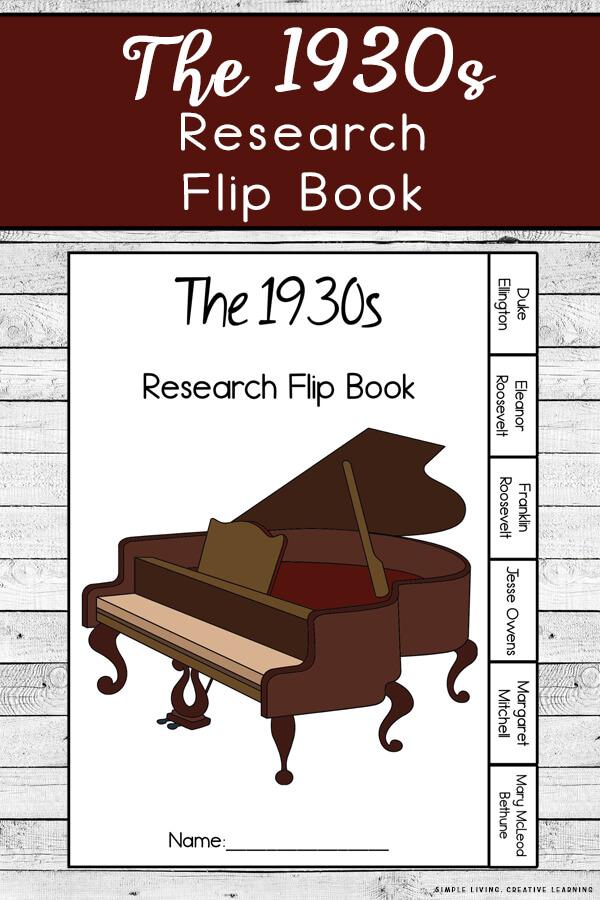 1930s Research Flip Book
