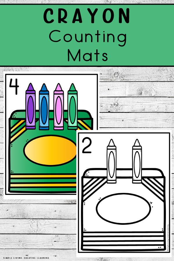 Crayon Counting Mats