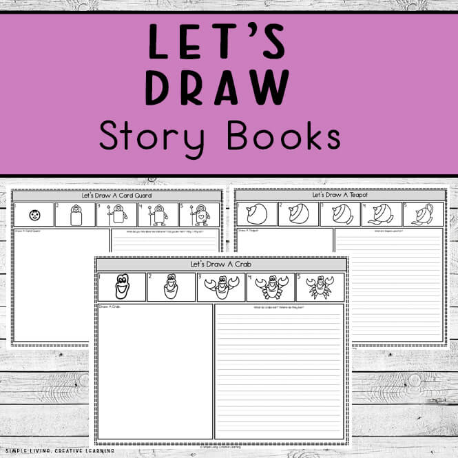 Learn to Draw ~ Story Books