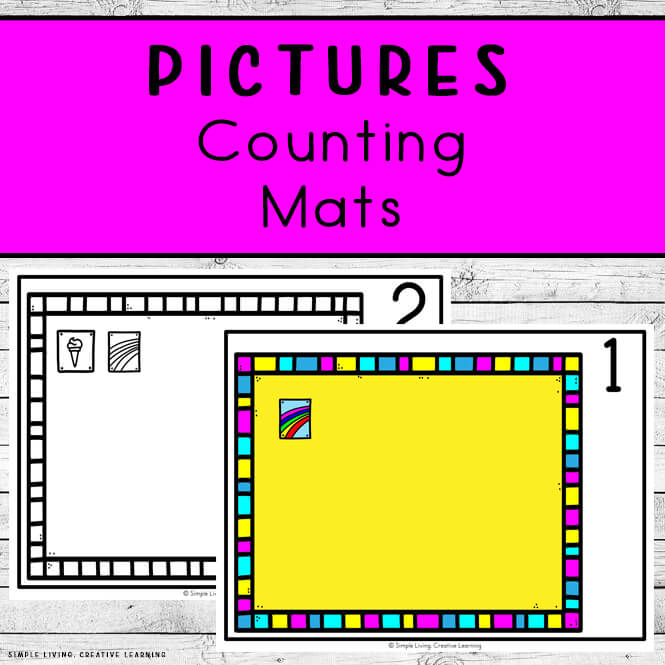 Pictures Counting Mats
