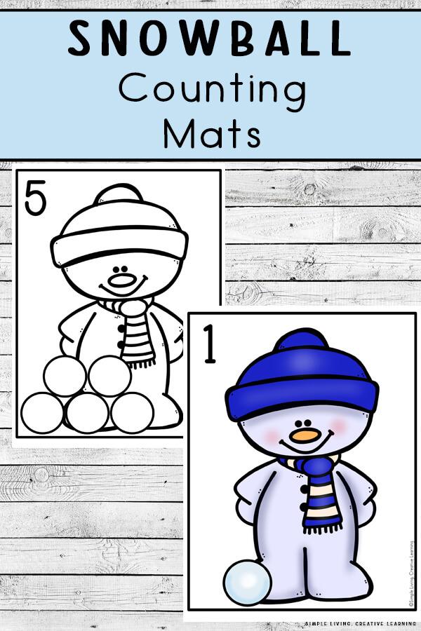 Snowball Counting Mats