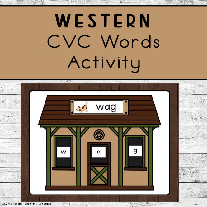 Western CVC Words