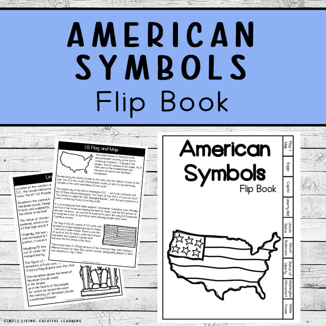 American Symbols Research Flip Book