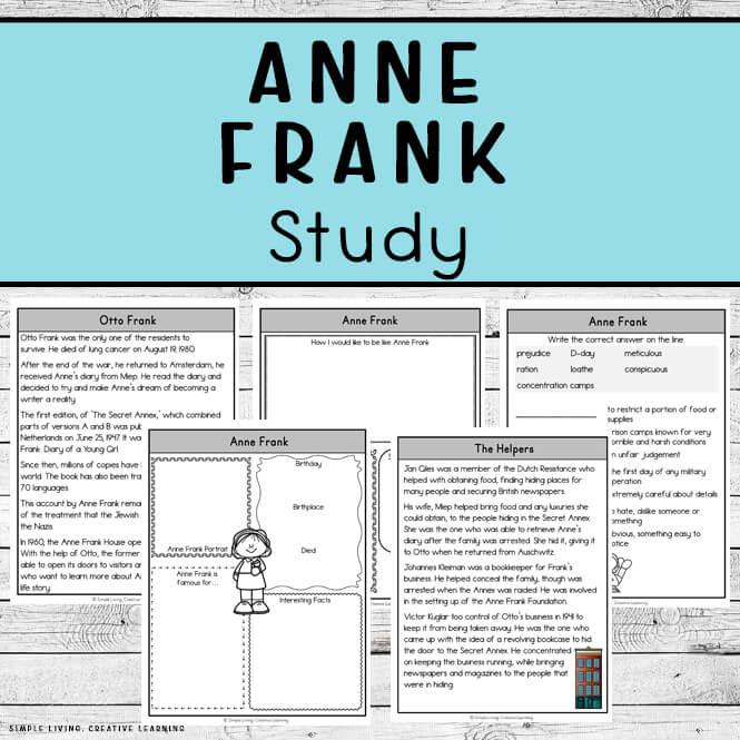 Anne Frank Study